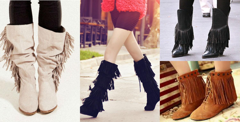 Zapatos con flecos una tendencia para ti adoleteen - Zapateria para ti ...